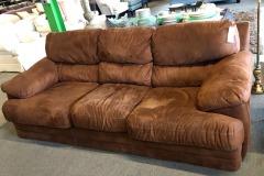 Brown Microfiber Sofa