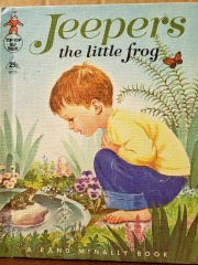 Jeepers the Little Frog