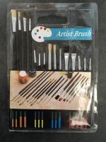 15 pc Artist Brushes