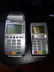 Credit card macines and pin pads
