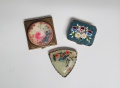 Vintage pill boxes (set of 3)