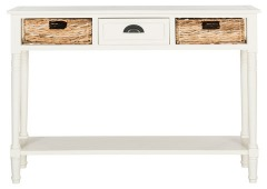 NEW Christa Console Table With Storage