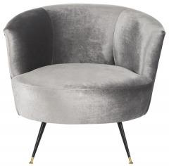 NEW Arlette Velvet Retro Mid Century Accent Chair