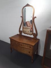 Cedar Dresser with Mirror