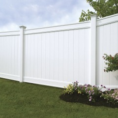 6'x8' Green Vinyl Fence Panel
