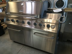 Kenmore Elite S.S. Propane Grill with Cabinet