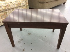 Wooden Rectangle Side Table