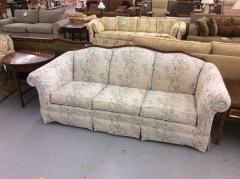 Broyhill Wood Frame Sofa