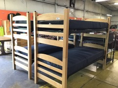 XLong Bunk Beds w\/Mattress