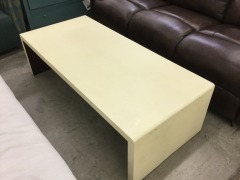 Light Yellow Modern Cocktail table - BETTER\/NEW FURNITURE
