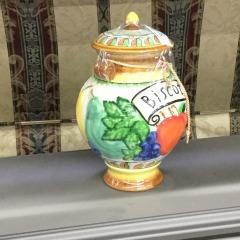 Biscotti Cookie Jar - HOUSEWARES