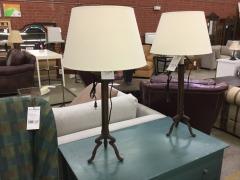 Tall Three-legged Lamp - LAMPS\/FIXTURES