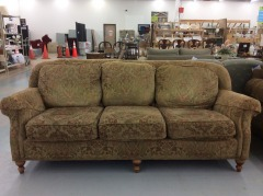 Smith Brothers Floral Sofa