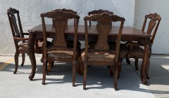 GENTLY USED Dining Table Set
