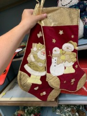 Fancy holiday stockings