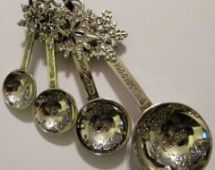 Fancy Holiday Spoons