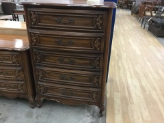 Broyhill Fancy Chest of Drawers - GENTLY USED FURNITURE