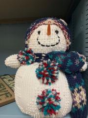 Hand sewn Cute Snowman