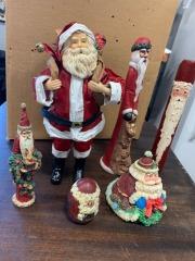 Unique Santa Collection!