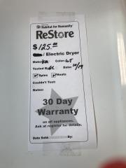 Kenmoore Elite Electric Dryer
