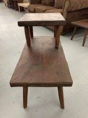 Vintage Hunt Country End Table