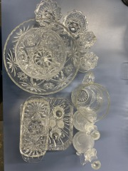 Holiday Faux Crystal 14-Piece Set
