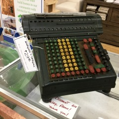 Antique Merchant Electrical Adding Machine - AS IS -  COLLECTIBLES