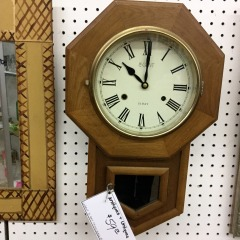 LeGant 31 day Chime Wall Clock - COLLECTIBLES