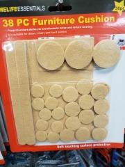 furniture pads 38 pc set