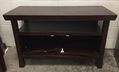 GENTLY USED TV Stand (Damaged)