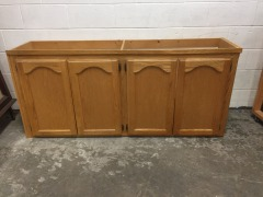 GENTLY USED Cabinet 67\