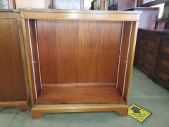 Brown wood bookshelf