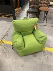 Green Big Joe Chair