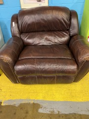 Extra Large Leather Recliner