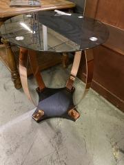 Copper Leg End Table