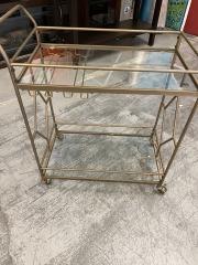 BHG Nicola Bar Cart w\/Glass