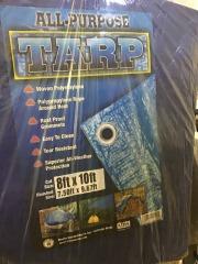 8 X 10 Blue Tarp