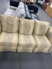 Beige-Yellow Couch